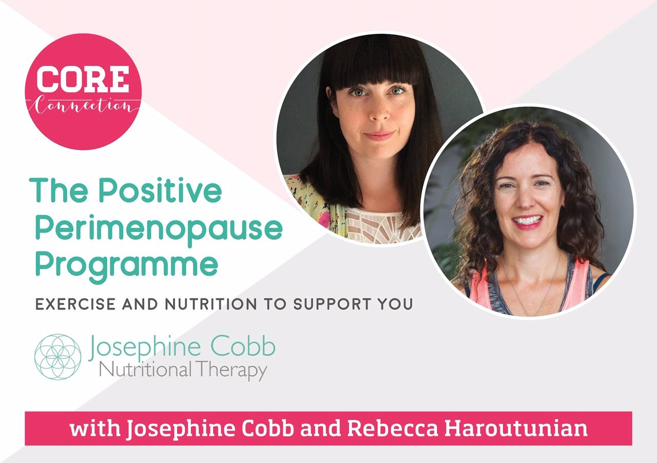 The Positive Perimenopause Programme | Core Connection UK